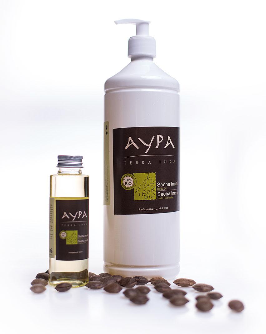 Увлажняющее масло для тела Сача Инчи