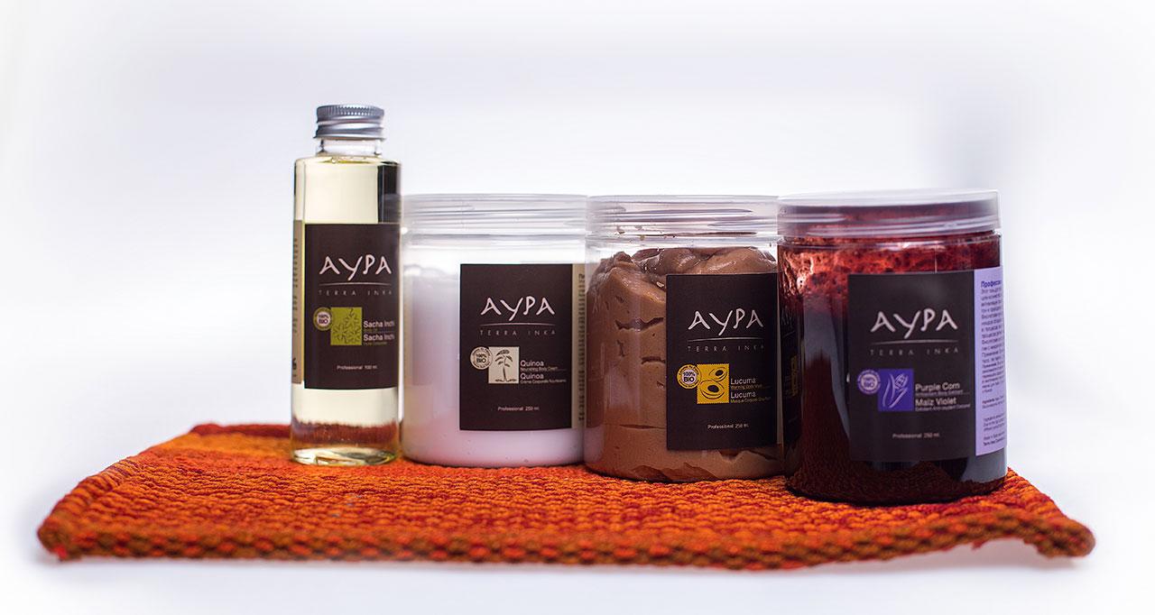 Aypa - профессиональная косметика для ухода за кожей тела